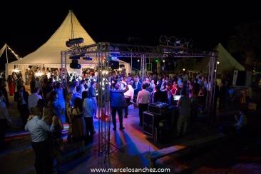 Fiesta de casamiento con iluminacion de sergio gonzales y fernando alamino la musica